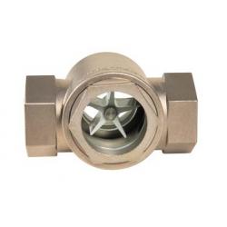 Vizor pentru condens dublu cu rotor din inox Dn 1/2'- 2'