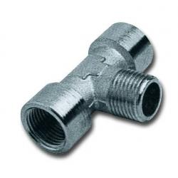 Racord metalic T axial filet interior-filet exterior