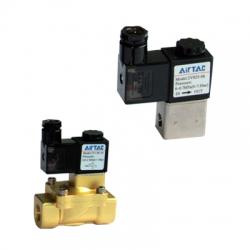 Vana control fluide cu actiune directa, normal inchis Seria 2V