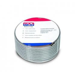 Furtun aer PVC Cristal cu insertie -echipat cu cuple rapide