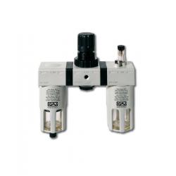 Filtru regulator si lubrificator cu manometru G-FRL-180