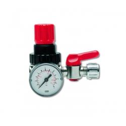 Regulator de presiune cu manometru si robinet RP-182 R
