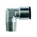 Conector metalic conic 90° furtun-filet exterior