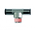 Conector metalic T -filet exterior conic