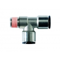 Conector metalic T axial -filet exterior conic